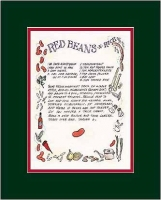 Red Beans N Rice Recipe Art